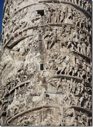 kolumna trajana (detal)