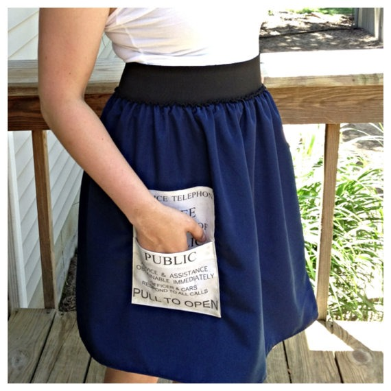 Doctor Who TARDIS Costume Skirt from Nonstop Fandom Shop