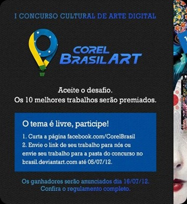 Concurso Arte Digital Corel