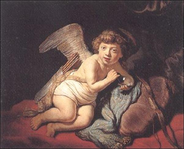 Rembrandt, Cupidon à la bulle de savon
