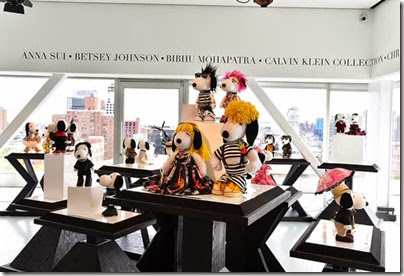 Peanuts X Metlife - Snoopy and Belle in Fashion Exhibition Presentation (Source - Slaven Vlasic - Getty Images North America) 01