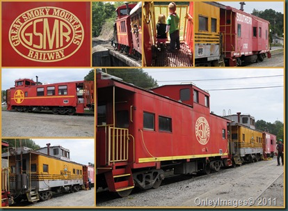 caboose collage