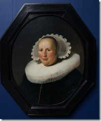 Rembrandt - Portrait of Maertgen von Bilderbeeq