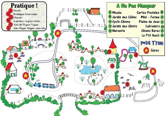 plan parc de la sauvagette