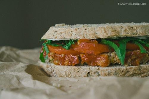 vegan sandwhich idea