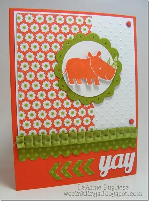LeAnne Pugliese WeeInklings Paper Players 164 Zoo Babies Kid's Birthday