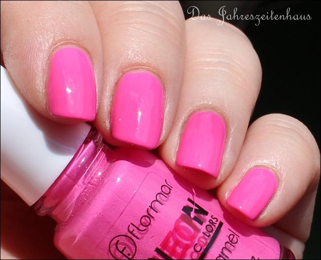 Pink Flormar NEON N008 8