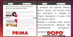 K2pdfopt - Documento PDF prima e dopo