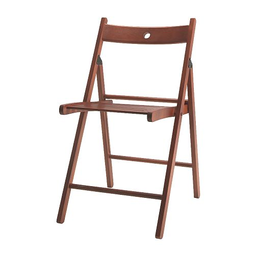 Ikea's Terje Folding Chair is simple and just what you will want to have in case you need more chairs.