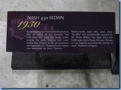 0912 Alberta Calgary - Heritage Park Historical Village - Gasoline Alley Museum - 1930 Nash 450 Sedan drove Route 66