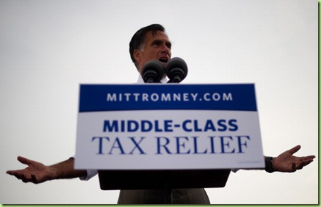 mitt middleclass tax cut