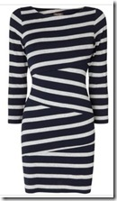 Phase Eight Striped Tunic Dress
