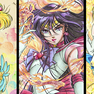 Sailor Moon al estilo Saint Seiya Araki