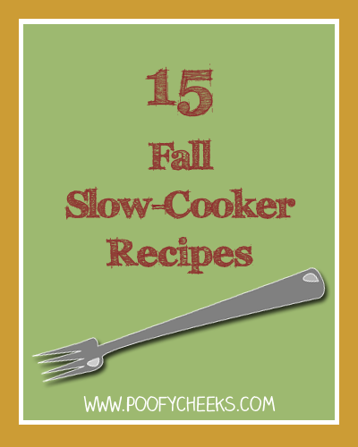 15 Fall Slow-Cooker Recipes by poofycheeks.com