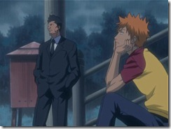 Bleach 09 Kon and Isshin Wait