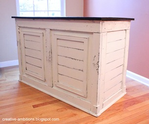 Shipping Crate Desk