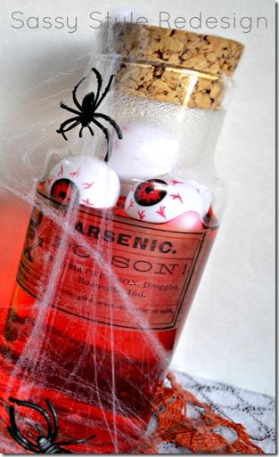 red poison jar