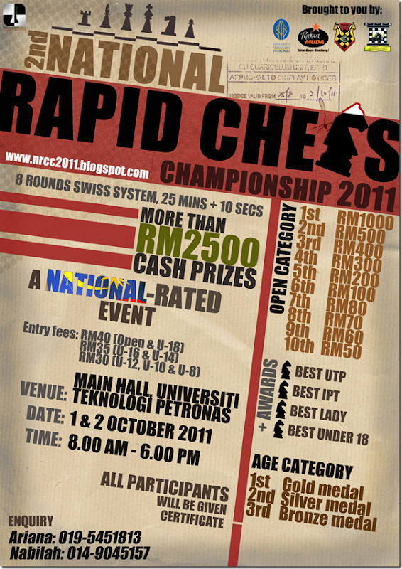 2ndNational Rapid Chess 2011