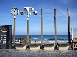 Zurriola clock