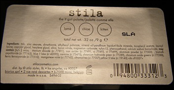 Stila The It Girl Palette