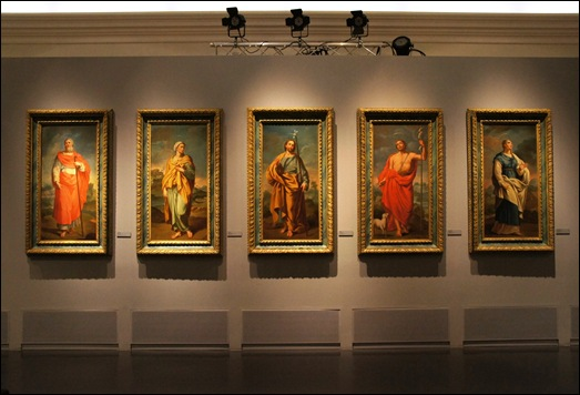 Gloria Ishizaka - museu de são roque - São Joaquim, Sta Ana, Sta Mª Madalena, S. José, e S. João Baptista