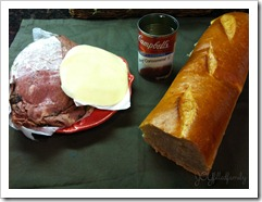 Saint Steak Sandwich ingredients