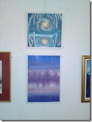 Planeta inghetata si un peisaj de iarna la salonul de iarna din Herastrau