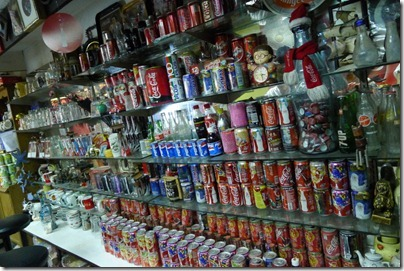 coke cans collection