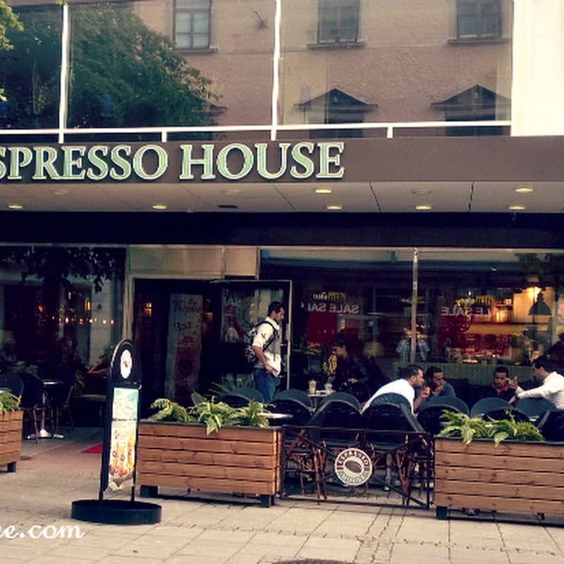 Quick Coffee Stop: Espresso House - Sundsvall