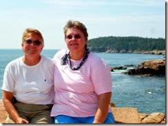 Syl and Gin at Acadia