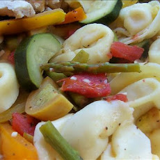 Tortellini With  White Wine Primavera