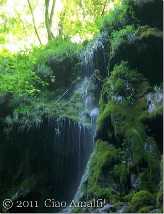 Ciao Amalfi Valle dei Mulini Waterfall