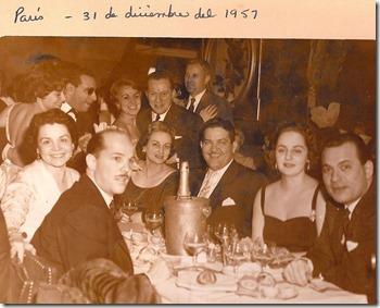 paris 31 diciembre 1957 Milton Messina