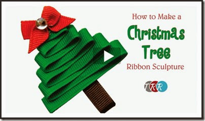 How-To-Make-A-Christmas-Tree-Ribbon-Sculpture