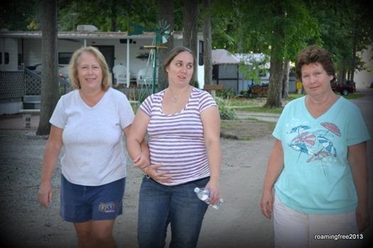 Diane, Katy & Deb