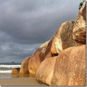 Pedra da Bunda, Prainha da Barra da Lagoa - Florianópolis Autores 1000 Dias