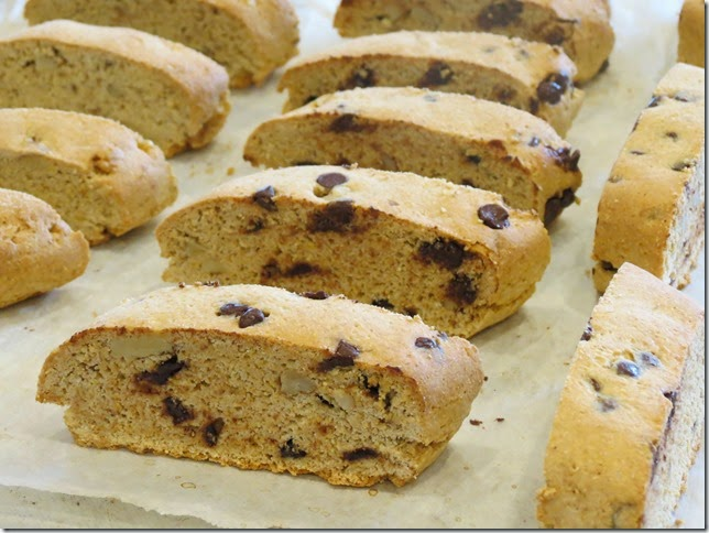 Maple Walnut Biscotti