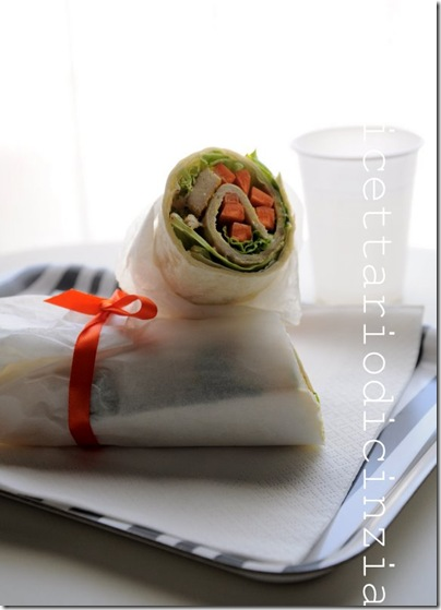 wrap di pollo light