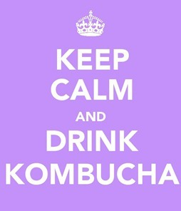 Keep calm drink kombucha