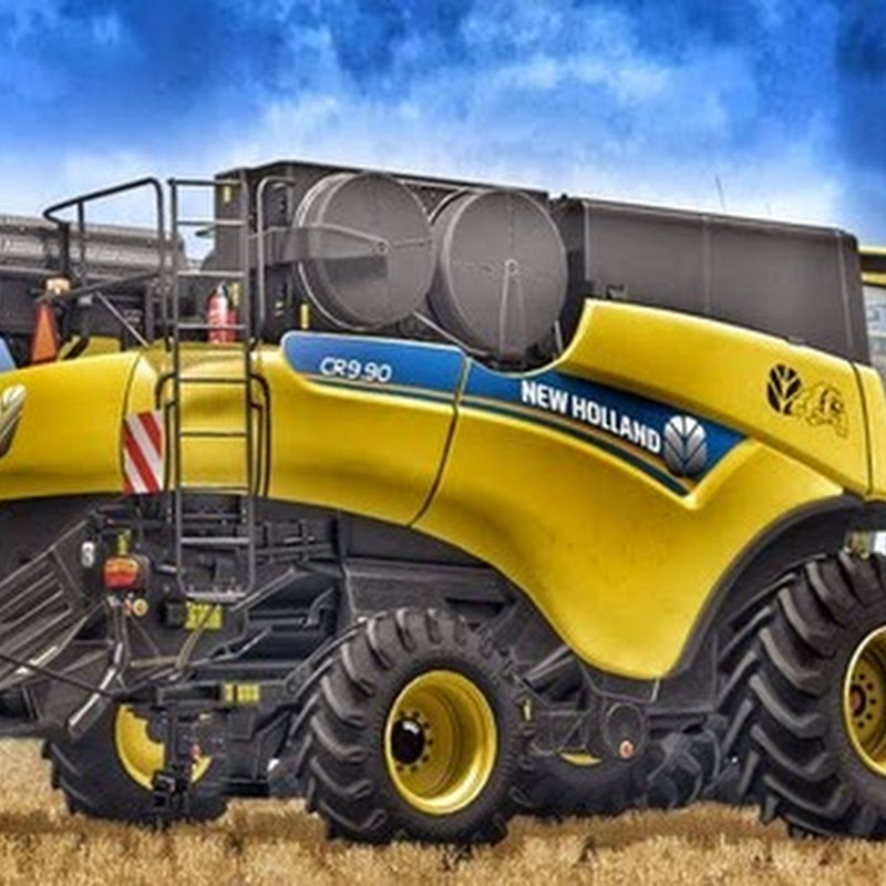 Farming simulator 2015 - New Holland CR9.90 Yellow v 1.0
