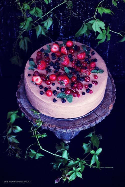Cherry Berry Mousse Cake 19