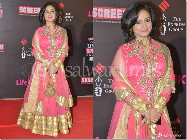 Tisca_Chopra_Pink_Net_Salwar_Kameez