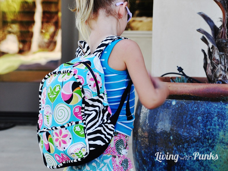 Toddler Backpack by Living with Punks