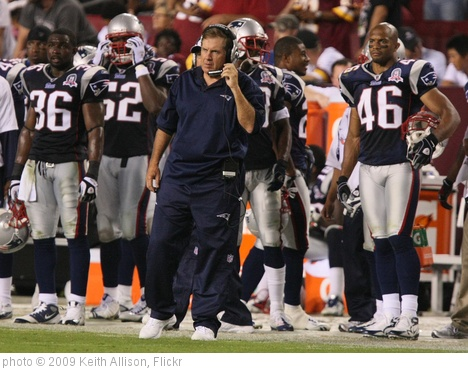 'Bill Belichick' photo (c) 2009, Keith Allison - license: http://creativecommons.org/licenses/by-sa/2.0/