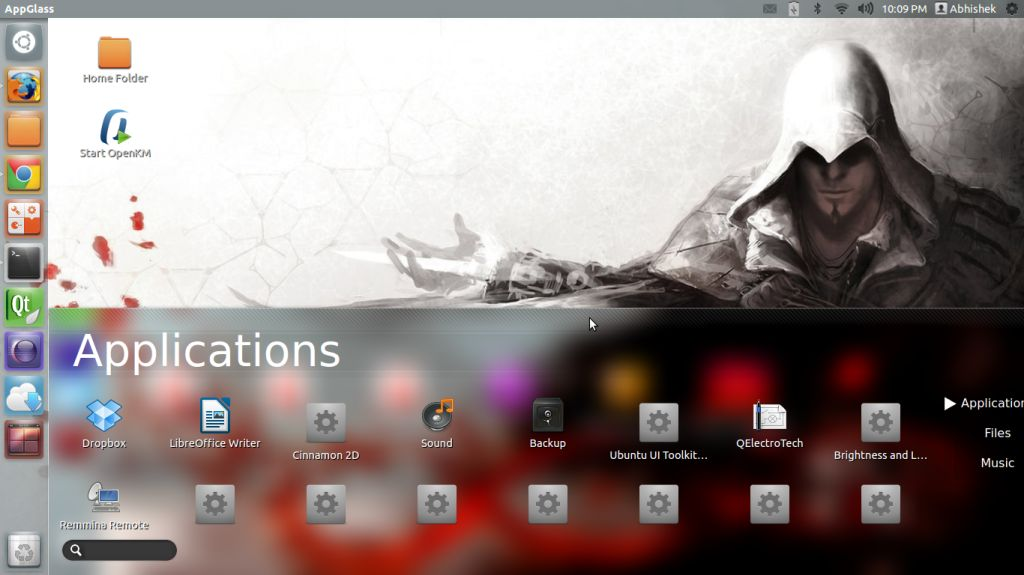 AppGlass in Ubuntu Linux
