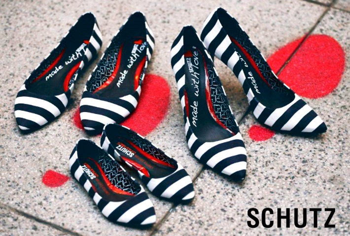 schutz dia das maes made with love sapatilha