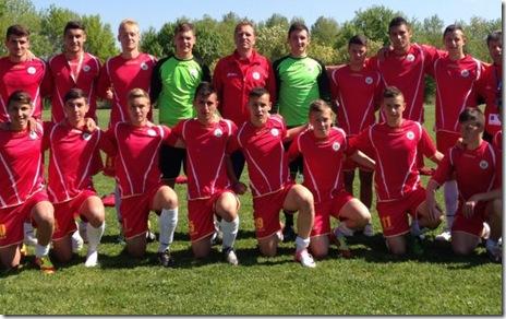 echipa de fotbal scolar a romaniei