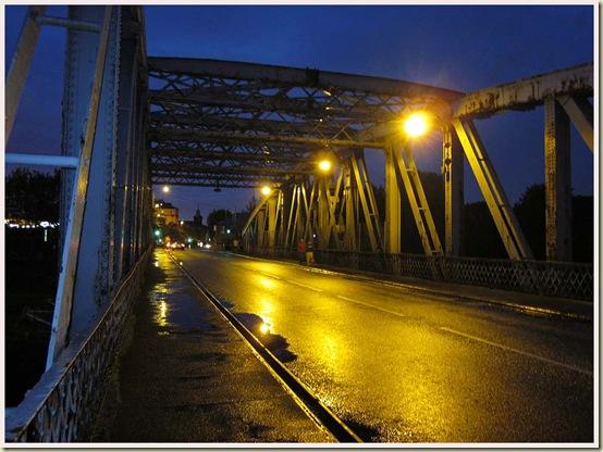 Swing Bridge over the Manchester Ship Canal at Stockton Heath