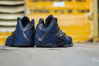 nike lebron 11 nsw sportswear ext denim 5 07 Release Reminder: Nike LeBron XI Ext Denim QS