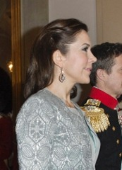The Royal New Years Reception. Queen Margrethe, Prince Henrik, Crown Prince Frederik and Crown Princess Mary hosting the annual Royal New Years reception at Amalienborg Castle on January 3rd, 2013..Photo: Martin Hoeien/All Over Press Denmark.  .Pictured: Crown Prince Frederik and Crown Princess Mary.  .  Ref: SPL477136  030113      .Picture by: Splash News  .    .  Splash News and Pictures    .Los Angeles  .New York  .London    .   (Newscom TagID: spnphotosfour204709) [Photo via Newscom]